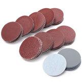 100 pcs 50mm Discos de Lixa 80-3000 Lixa Mista Sander Lixa Almofadas De Polimento