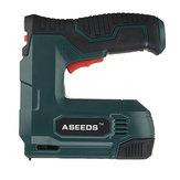 ASEEDS CSG04 4V Güç Tırnak Parçalar Elektrikli Zımba G-un Döşeme Ev Geliştirme 3000pcs Tırnaklar için