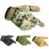 Three Soldiers Full Finger Tactical Gloves Touch Screen Slip Resistant Glove For Cycling Camping Hunting