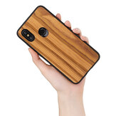 Bakeey Ultra-thin Wood Bamboo Pattern Protective Case For Xiaomi Mi8 Mi 8