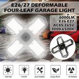 E26 / E27 LED Lâmpada de garagem 2835SMD Multifacetado Teto Dobrável Oficina Lâmpada Decoração de interiores Iluminação