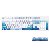 Ajazz Wired Mechanical Keyboard 104 Keys Chinese Style PBT Keycaps Keyboard with Cherry MX Switch