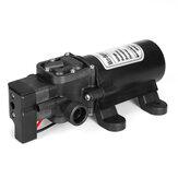 12V 60W Bomba de pressão de água de diafragma inteligente Interruptor de pressão elétrica Bomba autoescorvante