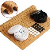 361pcs lámina de cuero de gamuza profesional de juego de go weiqi juego chino diversión