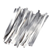 100Pcs Pure Nickel 99.96% Low Resistance Battery Strip Tabs Mat for Welding 0.1x4x100mm
