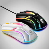 S1 Wired Gaming Mouse 3 Button 2000DPI USB Computer Mouse Ergonomic LED Backlight Gamer Mice for Computer PC Laptop