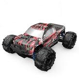 Eachine EAT10 1/18 Carro RC Escovado com 2.4GHz Controle Remoto Alta Velocidade 28km / h 4WD Caminhão Monstro Fora de Estrada Esteira Modelo RC para Meninos, Crianças e Adultos