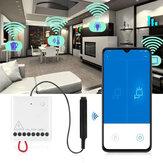 AqaraLLKZMK11LMModulKontrolDuaarah Wireless Relay Controller 2 Saluran Bekerja Untuk Mijia APP & Modul Kontrol Rumah Kit dari xiaomi youpin