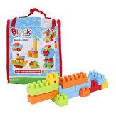Goldkids HJ-3806D 88PCS Multi-Style DIY Montage Spiel- und Lernblöcke Spielzeug für Kinder Geschenk