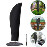 Parasol Umbrella Cover Anti-UV Dust-proof Waterproof Polyester Protective Cover for Cantilever Garden Patio