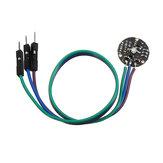 Frequência de pulsação do pulso pulsátil Sensor Módulo Pulse Sensor Geekcreit para Arduino - produtos que funcionam com placas oficiais Arduino