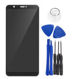 Lcd-scherm + Touch Screen Digitizer Vervanging Met Reparatie Tools Voor Huawei P Smart FIG-LX1 LX2 L21 L22