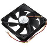 Refroidisseur de ventilateur de CPU de 3 broches 120 * 120 * 25mm