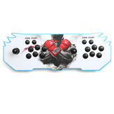 Pandorabox's Key 6S 1388 en 1 jeux vidéo rétro LED HD Home Arcade Game Console Double Stick