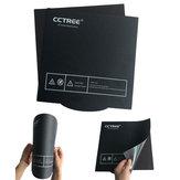 CCTREE® 235 * 235 مم مرن سرير مغناطيسي مدفأة Cmagnet بناء لوحة السطح مع الغراء الخلفي لطابعة Ender-3 ثلاثية الأبعاد