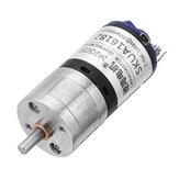 CHIHAICHR-GM25-BK37012V2000rpm1:10Ratio DC motor Reducción magnética fuerte de alta velocidad motor