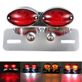 Motorcycle Cat Eye Brake Running Tail Turn Light