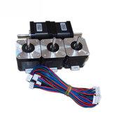 TRONXY® 4 piezas SL42STH40-1684A-23 1.7A 78Oz Stepper motor para impresora 3D