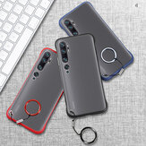 Bakeey for Xiaomi Mi Note 10 Lite Case Frameless Ultra Thin Matte with Finger Ring Hard PC Protective Case