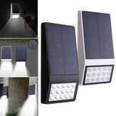 3.7V 1W Solar Powered 15 LED Lampe murale Night Light imperméable à l'eau pour Garden Patio Path