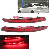 LED Parachoques trasero Reflector Light Warn Tail Brake Lámpara para Ford Mondeo Fusion 2011-2012