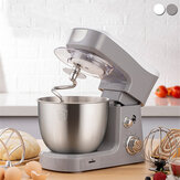 Haoteng WLS-5513 Electric Food Stand Mixer 600W Tilt-Head 6 Speed Stainless Steel Bowl for Knead Dough Egg-beater