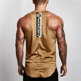Mens Mesh Breathable Quick Drying Sport Vest Tank Tops