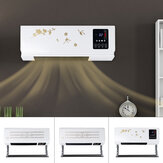 220V Wall Mounted Air Heater Heating/Cooling Remote Conditioner Fan for Home Office
