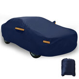 Dark Blue Full Car Cover Waterproof Sun Rain Heat Dust UV Resistant Protection