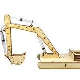 ديي البخار الخشبي hydraumatic الاستيلاء على حفار rc روبوت لعبة تعليمية كيت