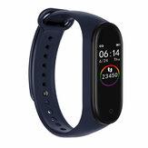 Bakeey M4 Lite-kleurendisplay Hartslag aller tijden 5 Sportmodus Muziekbediening Lang standby Smart Watch