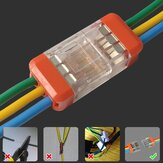 LT-33 3Pin Quick Wire Connector Universal Compact Electrical LED Light Push-in Butt Conductor Terminal Block 450V