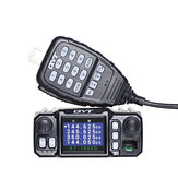 QYT KT-7900D 25W Quad Band Mobiele Radio Walkie Talkie 144/220/350 / 440MHZ 4 Bands FM Transceiver UPGRADE van QYT KT8900 Car Radio