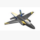 KFPLANE KF605F35戦闘機2.4G4CH6軸ジャイロスコープ自動バランス360°ロールオーバーEPPRCグライダー飛行機RTF(トレーナー初心者向け)