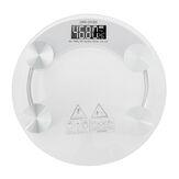 Balança Digital de Corpo 180KG LCD Vidro Peso Eletrônico Balança