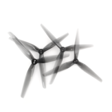 2 Pairs HQProp T6X2.5X3 6 Inch 3-blade Light Grey Poly Carbonate Propeller CW CCW for RC Drone FPV Racing Multirotor