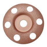 Drillpro 125 mm doorschijvig wolfraamcarbide hout vormschotel houtsnijschijf voor haakse slijper