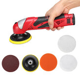 12V Li-ion Battery Compact Polisher Cordless Electric Polisher Waxing Polishing Machine