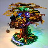 DIY LED Kit de iluminação leve SOMENTE para LEGO 21318 Ideas Treehouse Buildings Block Toys