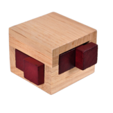 Wood Small Size For Adults Kids IQ Brain Teaser Kong Ming Lock Interlocking Puzzles Game Toys