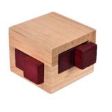 Madeira Tamanho Pequeno Para Adultos Crianças QI Kong Ming Bloqueio Quebra-cabeças Bloqueio Jogo de Puzzles Brinquedos