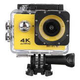 4K Action Camera WiFi Sports Camera Ultra HD 30M 170 ° Wide Angle Waterproof DV Camcorder with EIS Gyroscope Dual Anti Shake