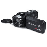 3 Inch Ultra HD Camcorder Digital DV 2.7K 16X Zoom 30MP Câmera de Vídeo para Live Vlogging Broadcast