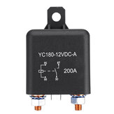 12V 200A ON/OFF Relay Switch Heavy Duty Split Charge 4-Pin Terminals For Car Auto Boat Van
