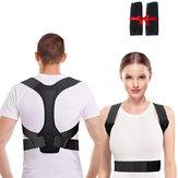 男性女性のための調節可能な姿勢矯正装置背中サポート肩脊椎サポート理学療法健康固定テープ