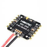 HAKRC 20x20mm 20A BLheli_S BB2 2-4S 4 in 1 Brushless ESC Support DShot600 for RC Drone FPV Racing