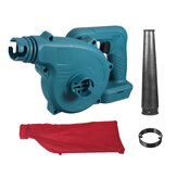Electric Cordless Air Blower Suction Household Wireless Dust Leaves Vacuum Cleaner Tool For Makita 21V Battery