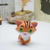PU Slow Rebound Toy Symulacja squishy Cartoon Relief Little Tiger Toy
