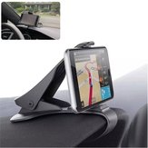 Universal Adjustable Clip Car Dashboard Holder Mount for iPhone Mobile Phone Under 6.5 Inches