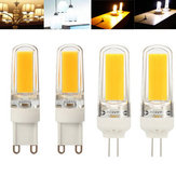 ZX Dimmable G4 G9 LED Filament Retro COB Glass Light Bulb 110V 220V Replace Holagen Light Bulb